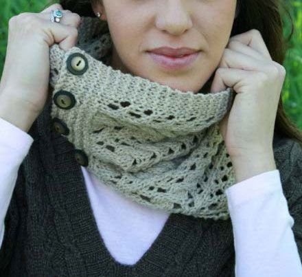 116 Best Knit Cowl Patterns Images On Pinterest Dots Knit Cowl
