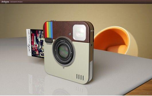 Instagram Socialmatic Camera... la voglio!