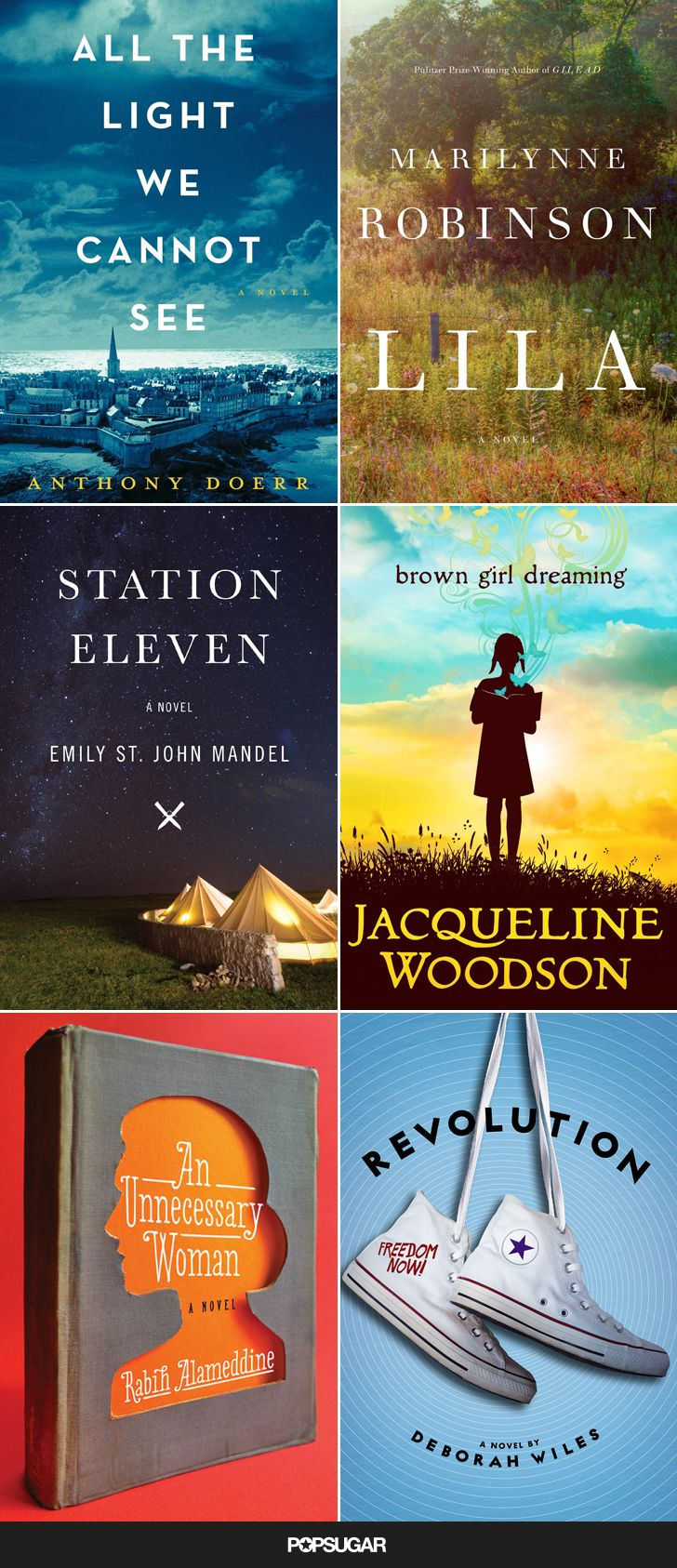 Have you read the National Book Award finalists?