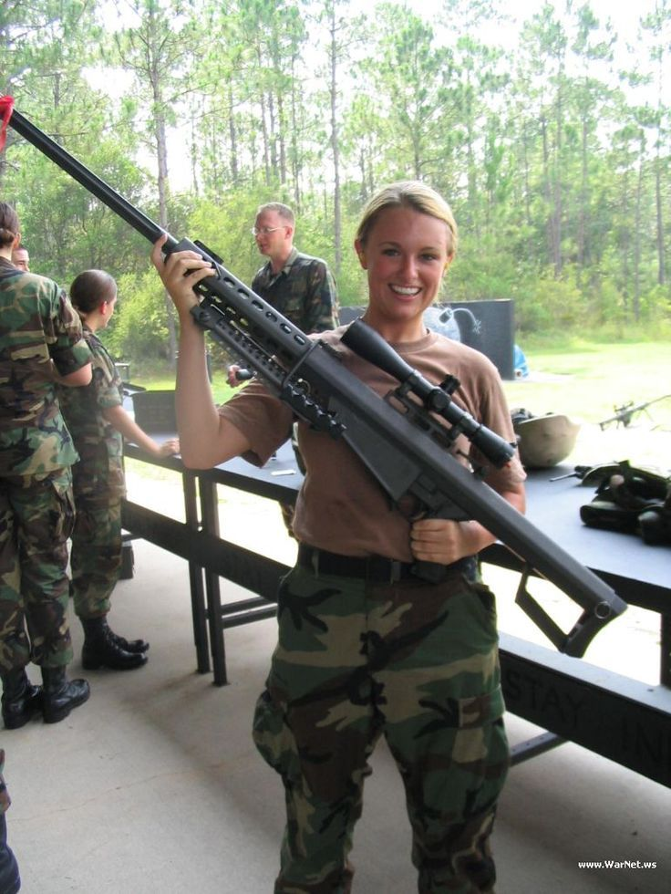 Barrett .50 cal. When you've absolutely, positively got to kill ...
