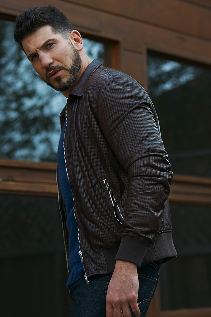 Jon Bernthal photographed by Ari Michelson for Sharp Magazine