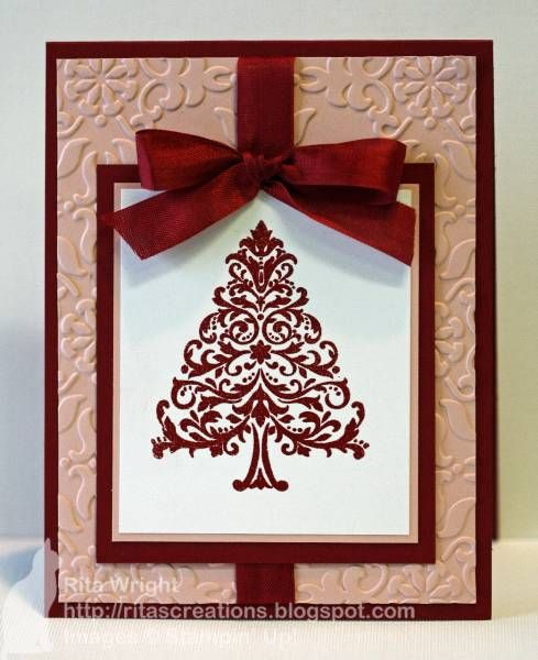 Red/Pink Christmas by kyann22 - Cards and Paper Crafts at Splitcoaststampers