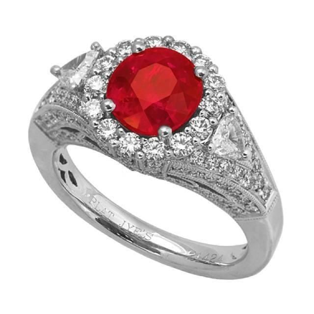 This is the kind of red we like seeing. This 2.31ct ruby ring..... http://www.julify.com/