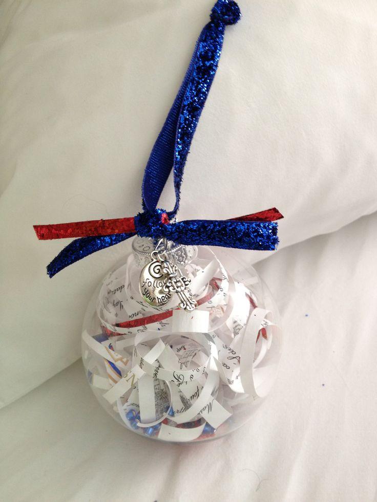 College graduation announcement Christmas ornament. Great gift idea