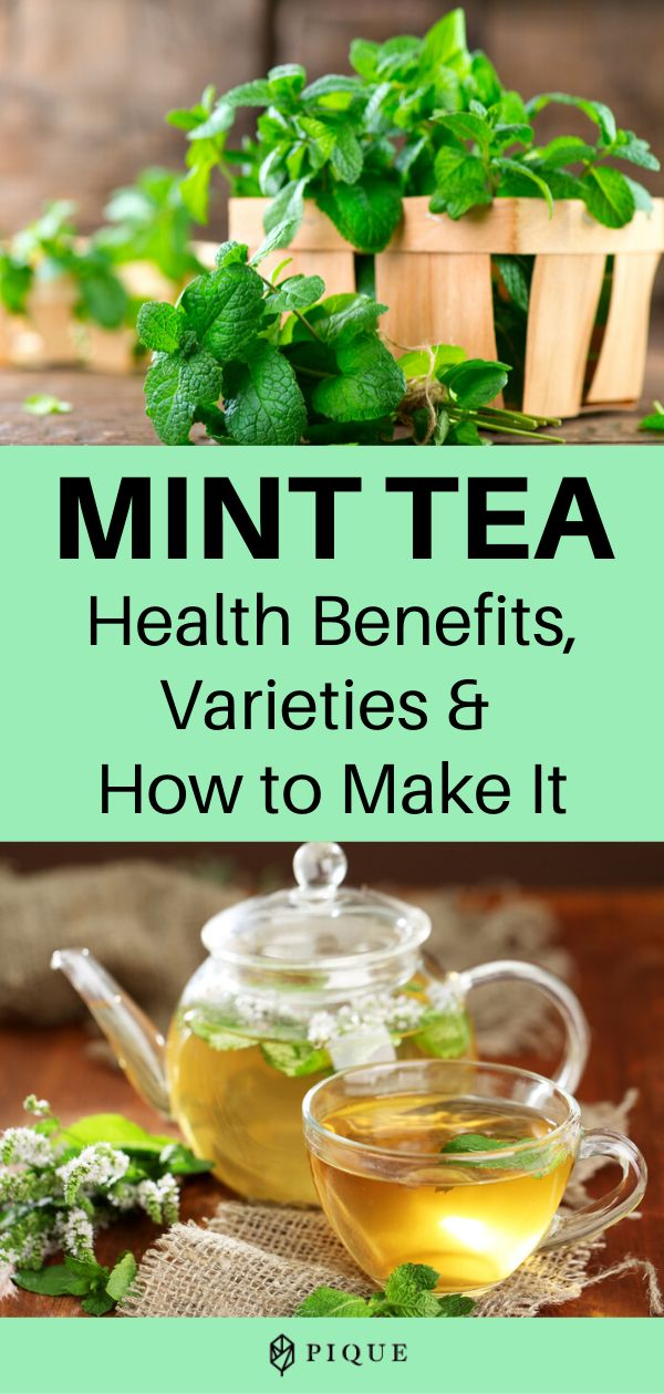 Mint Tea: Health Benefits, Varieties & More | THE FLOW by ...