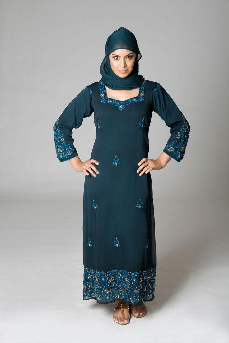 Lebaness attire abaya fashion muslim woman dress design islamic