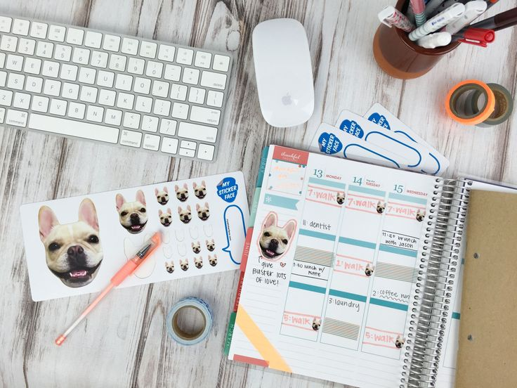 Custom stickers to add to your planner addiction!