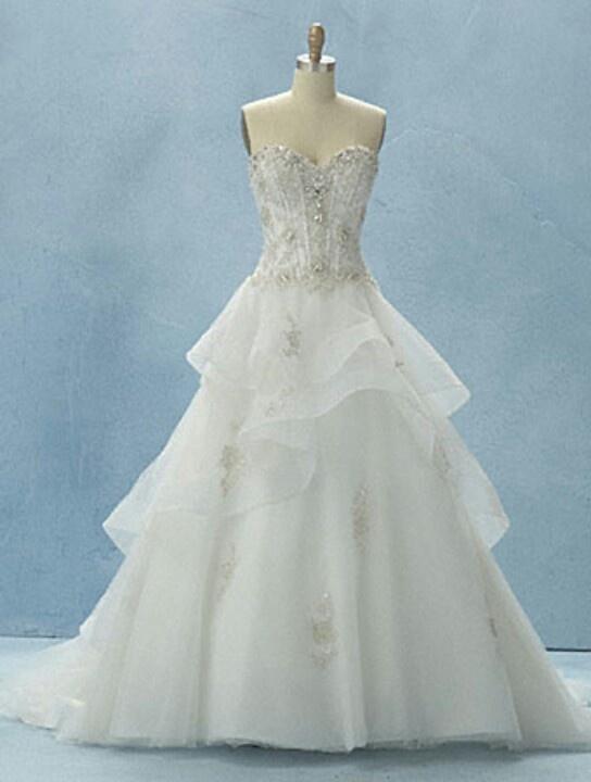 Alfred Angelo Disney's Belle | wedding dress | Pinterest