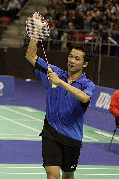 Taufik Hidayat is a famous person in Indonesia.