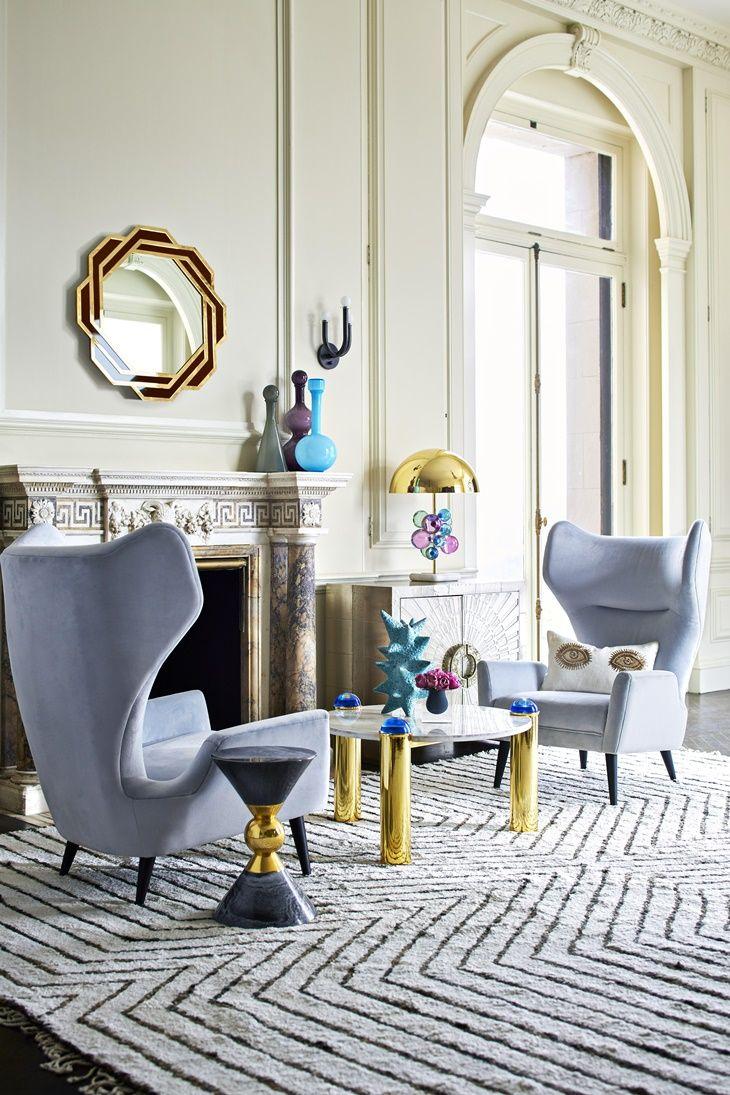 Light pink accent chair 187 home design 2017 - Maison Objet 2017