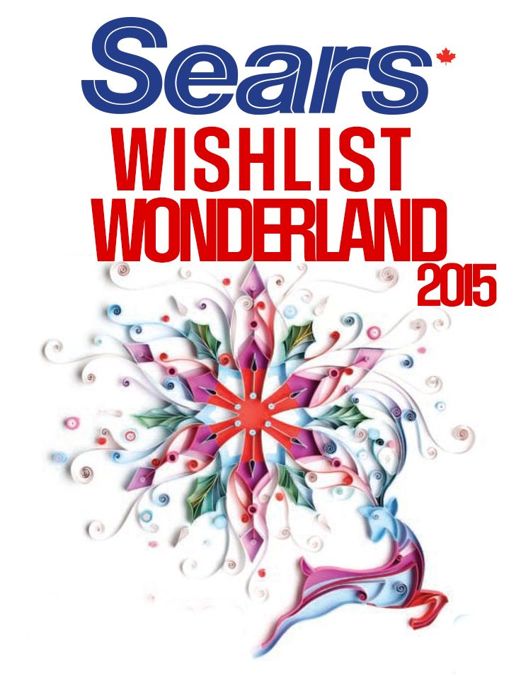 Sears Wishlist Wonderland 2015 - Enter For A Chance To Win 1 of 3 $1,000 Gift Cards!