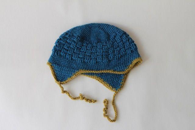 En fin hue til de mindste, med en rigtig god pasform. #bypapara #hækleopskrifter #crochet #hekle