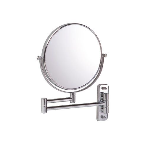 Photographic Gallery Bathroom Origins Reversible Magnifying Wall Mirror in Chrome Size x x Extended Mirror magnifying