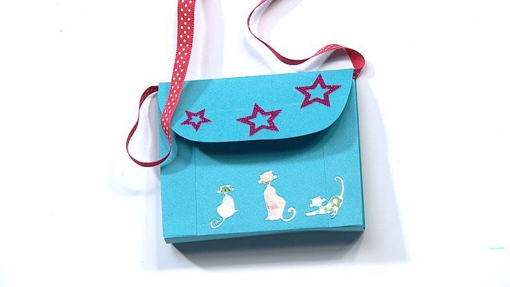 Vean laukku I askartelu | kädentaidot | paperi | lasten | lapset | helppo | askarrellaan | kids | children | easy | crafts | Pikku Kakkonen