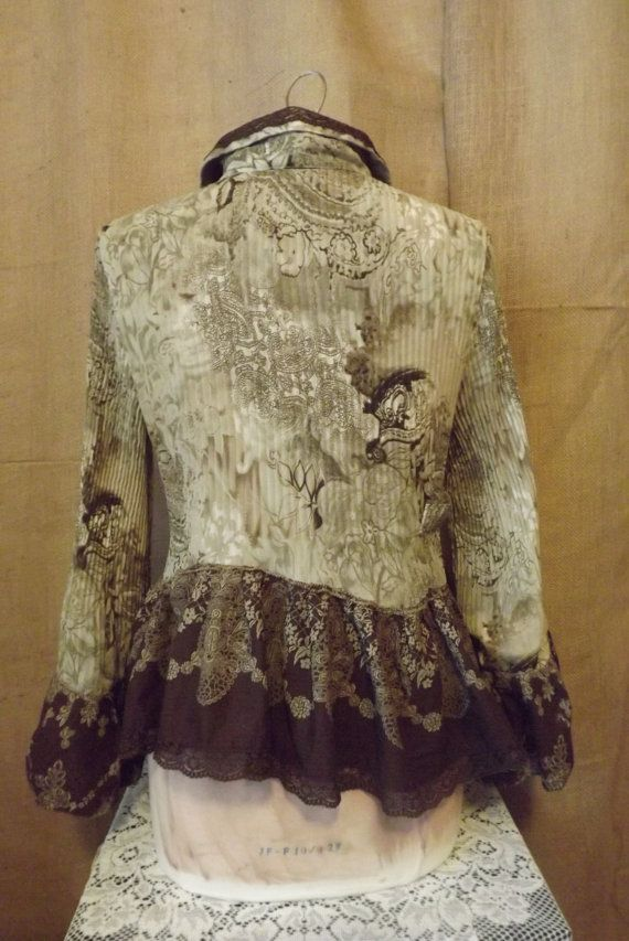 Lagenlook Vintage Inspired Upcycled  I Love by bluemermaiddesigns, $49.00