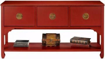 Wuchow Three-Drawer File Console - File Storage - File Cabinets - Office Furniture | HomeDecorators.com