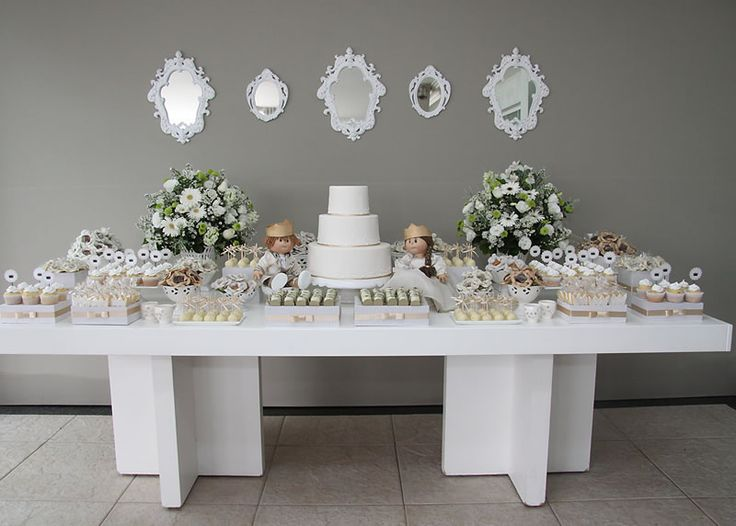 17 best images about grey white and beige on pinterest Elegant baby shower decorations