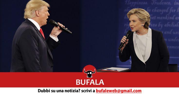 Ci viene presentato il seguente articolo, targato Notizie Pro-Vita, di cui riportiamo le parti salienti Durante l'ultimo dibattito televisivo per le elezioni presidenziali negli USA, la Clinton ha ...