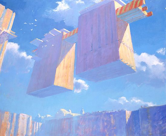 Lashes of Sci-Fi Impressionism by John Harris