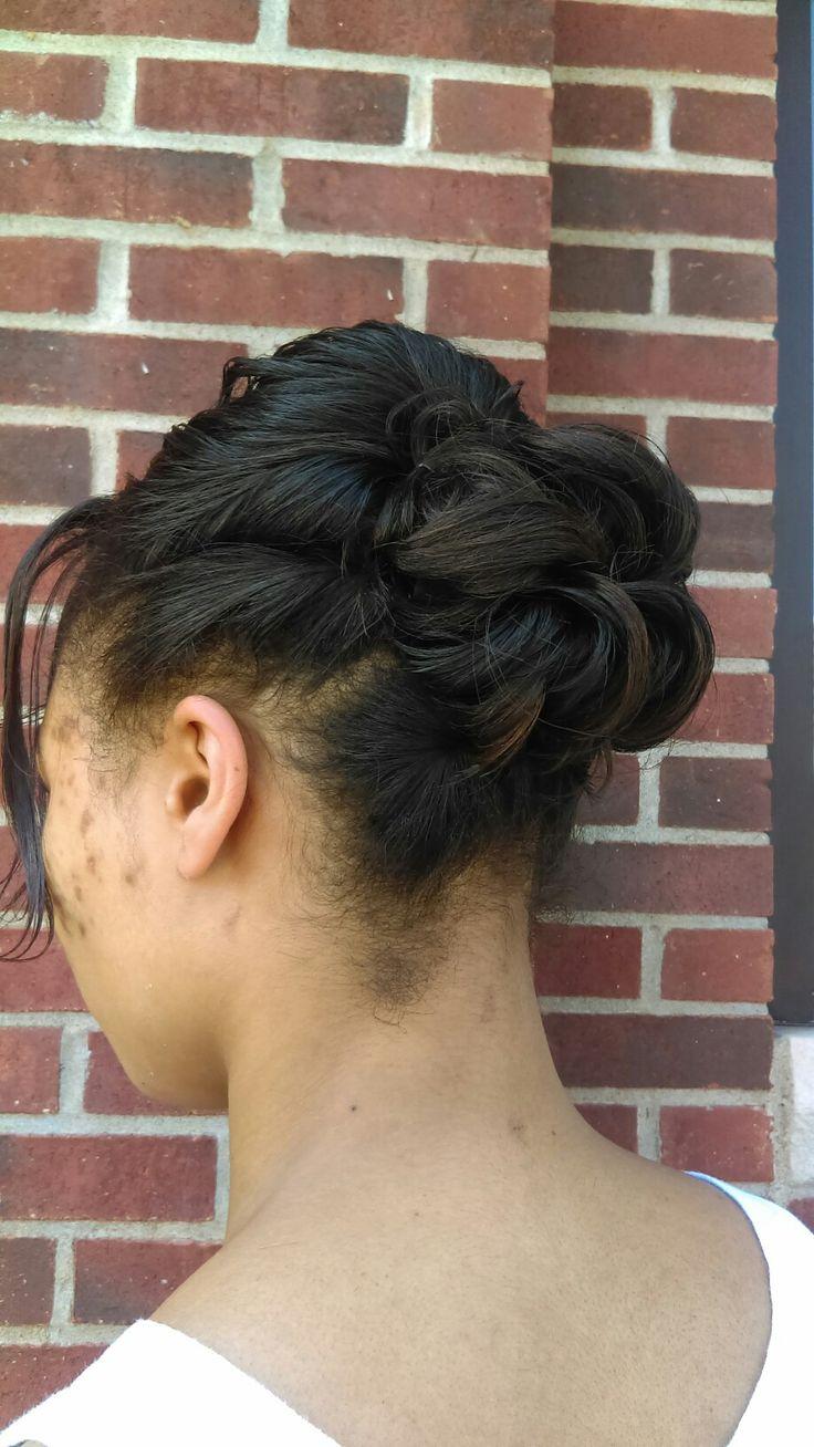Hair by Angie Hair, Behind ear tattoo, Ear tattoo