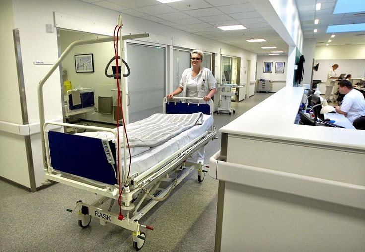- Det er virkelig lækre omgivelser i forhold til det, vi kommer fra, hvor alt er meget småt. Det er meget mere praktisk indrettet, fortæller sygeplejerske Liselotte Collberg til DAGBLADET.