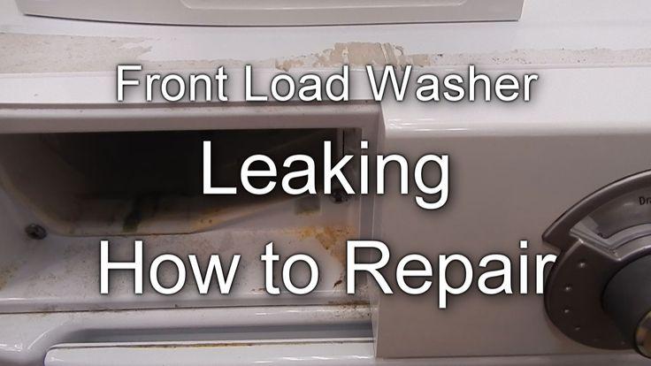 lg washing machine leaking underneath