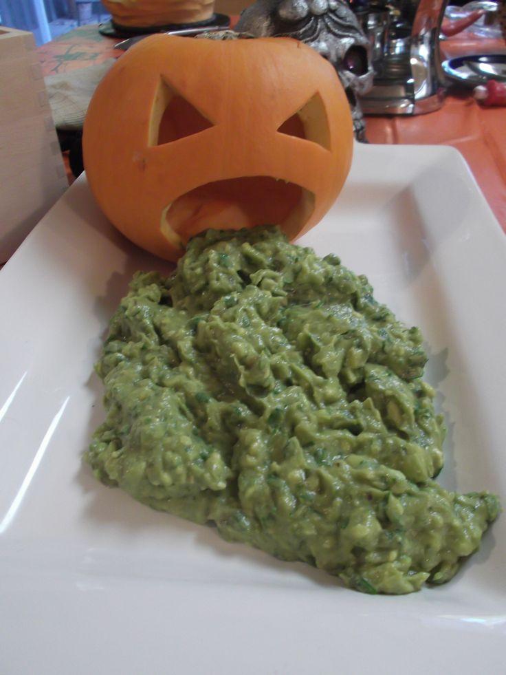Halloween Food - guacamole