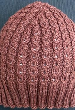 Truffle Hat Pattern - Free Knitting Patterns by Susanna IC