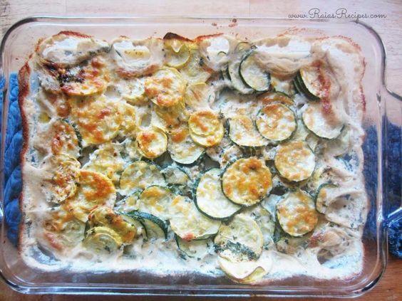 Scalloped Zucchini & Crookneck Squash | grain-free, egg-free, gluten-free, sugar-free