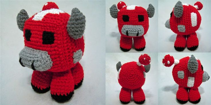Amigurumi Minecraft Pig : 17 Best ideas about Minecraft Crochet on Pinterest ...