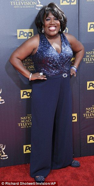 Why so blue? Kelly Sullivan (left), Deidre Hall (middle) and Sheryl Underwood (right) all ...