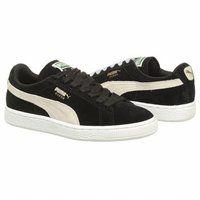 PUMA Suede Classic Sneaker | Women's - Black | $65