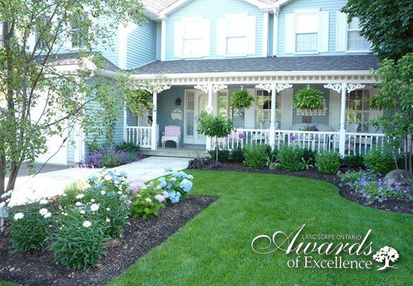 Victorian house landscape design victorian landscape for Victorian garden designs