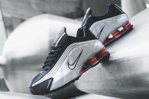 732a137f2e7 Nike Brings Back the Shox R4 in Original Black   Silver Colorway ...