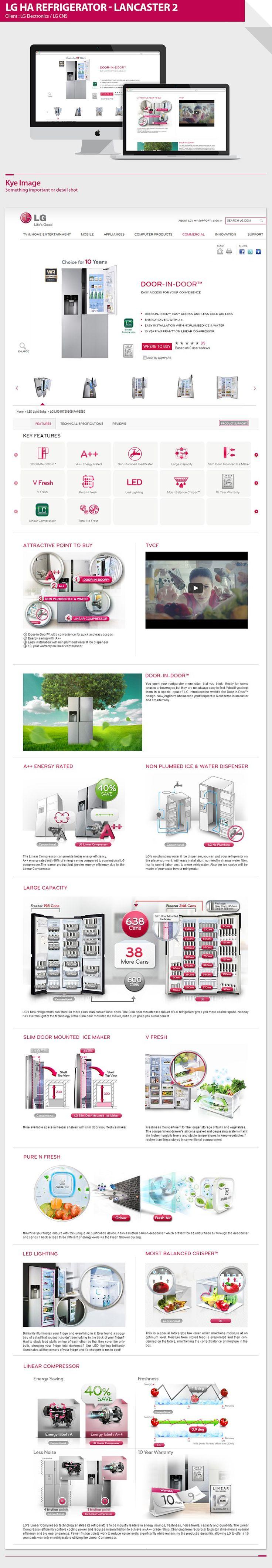 LG HA refrigerator - Lancaster2 USP