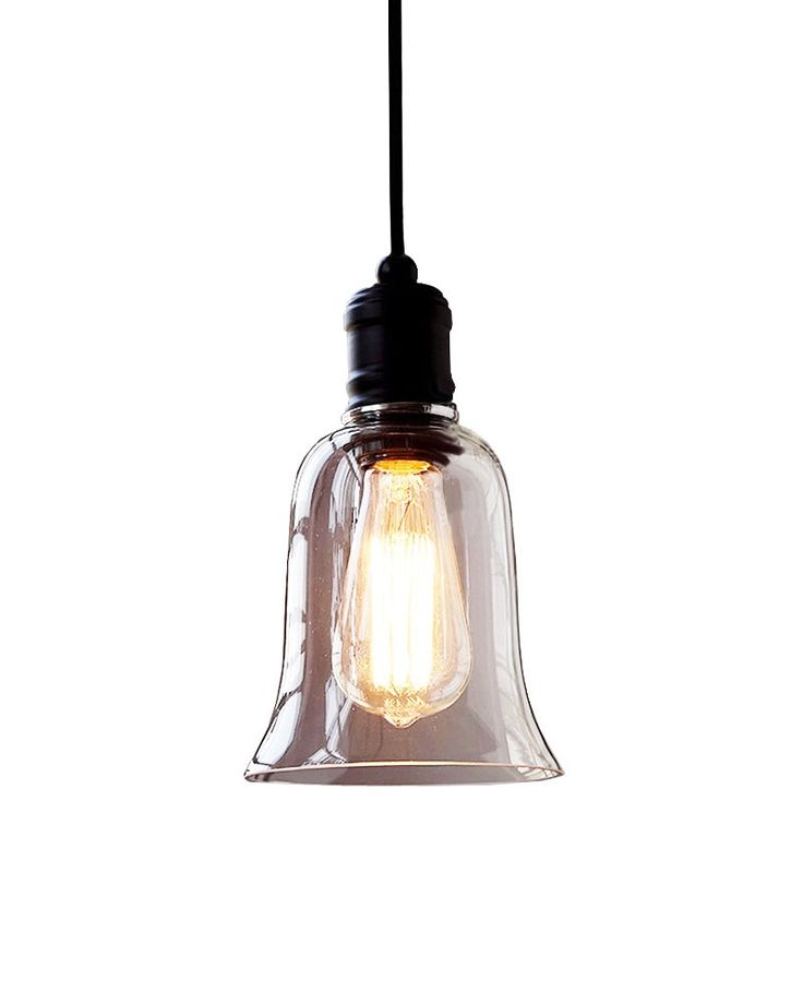 58 best home industrial pendant lights images on pinterest rustic style bell shape pendant light with glass shade aloadofball Choice Image