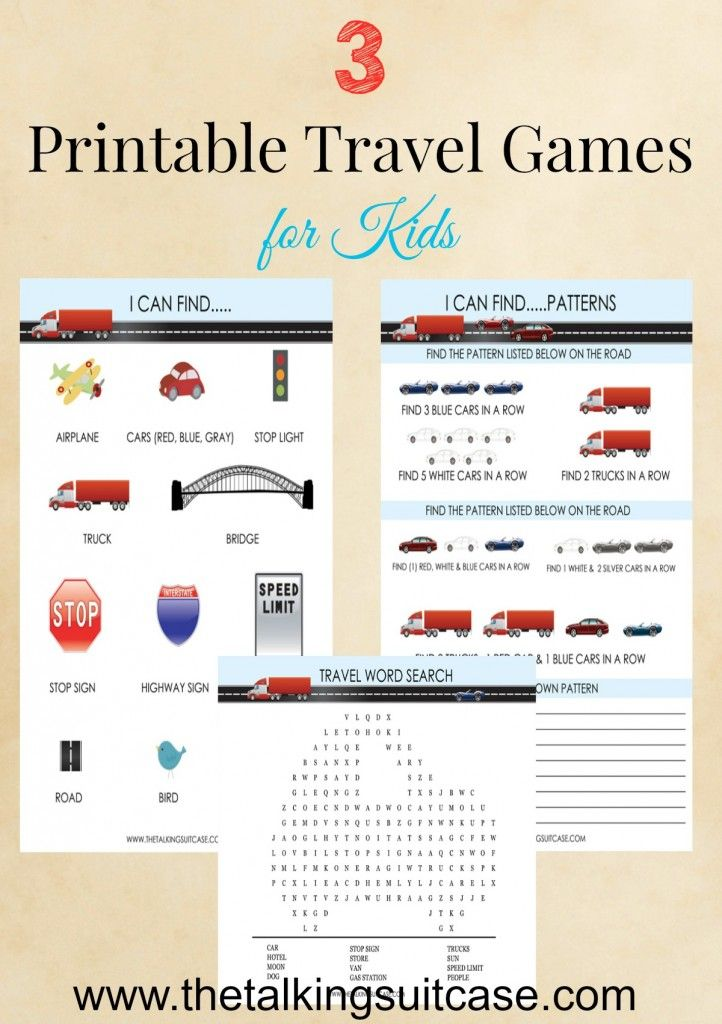 These 3 travel games will get kids thinking and playing, and are easily printed with the complimentary printing from our 24/7 Business Centers.