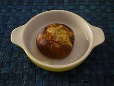 """""""Melanzane ripiene Moussaka style"""". A volte le ricette ti danno l'ispirazione per liberare la fantasia e creare qualcosa di originale. Questa melanzana ripiena ne è l'esempio... mangiante!"""