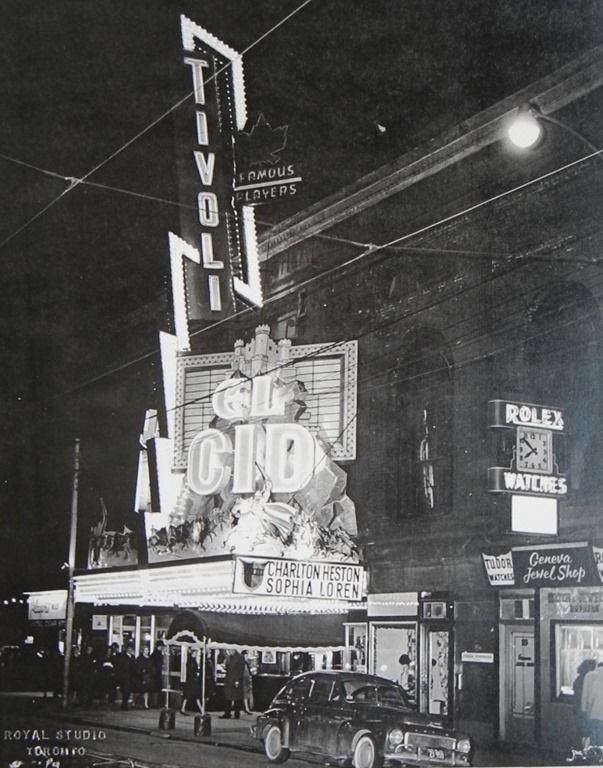 photos of old movie houses | Toronto's old movie houses—Tivoli on Richmond St. E. | Historic ...