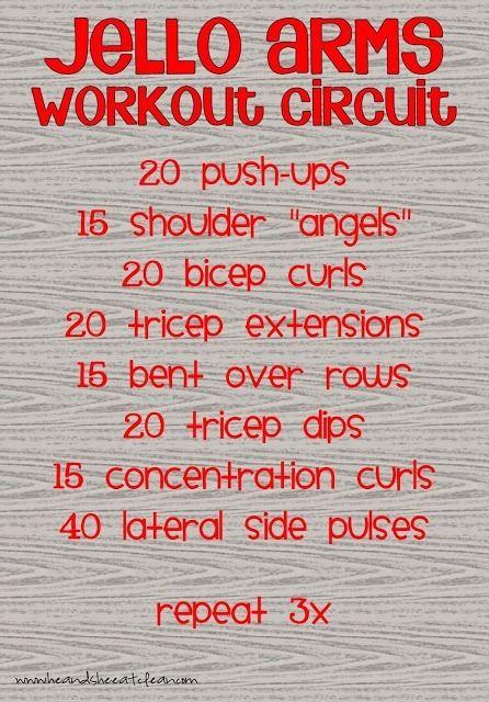 Jello Arms Workout