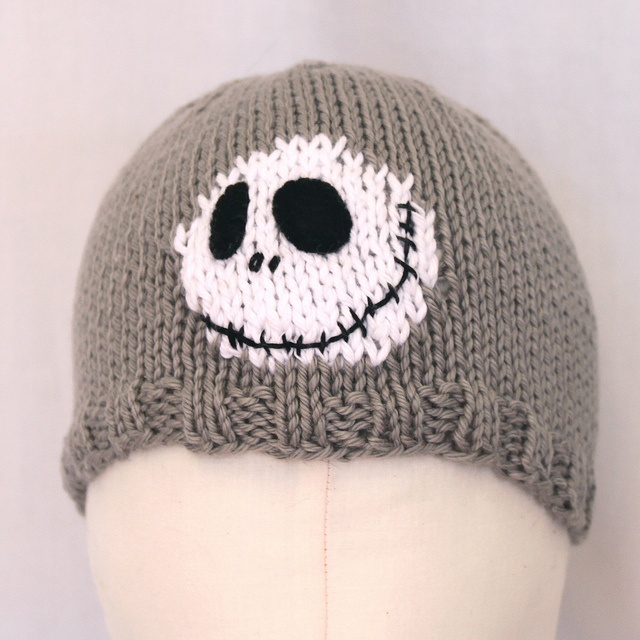 Jack Skellington Hat Knitting Pattern : 1000+ images about Novelty Hats (knit) on Pinterest Knitting daily, Yarns a...