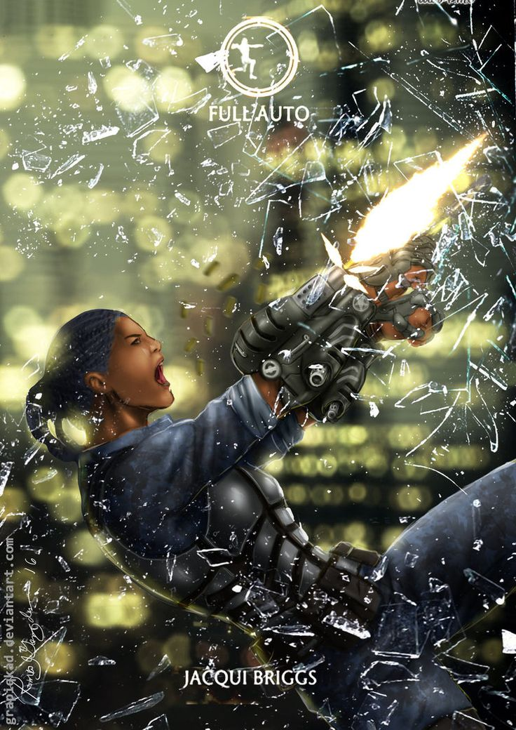 Mortal Kombat X-Jacqui -Full Auto Variation by Grapiqkad.deviantart.com on…