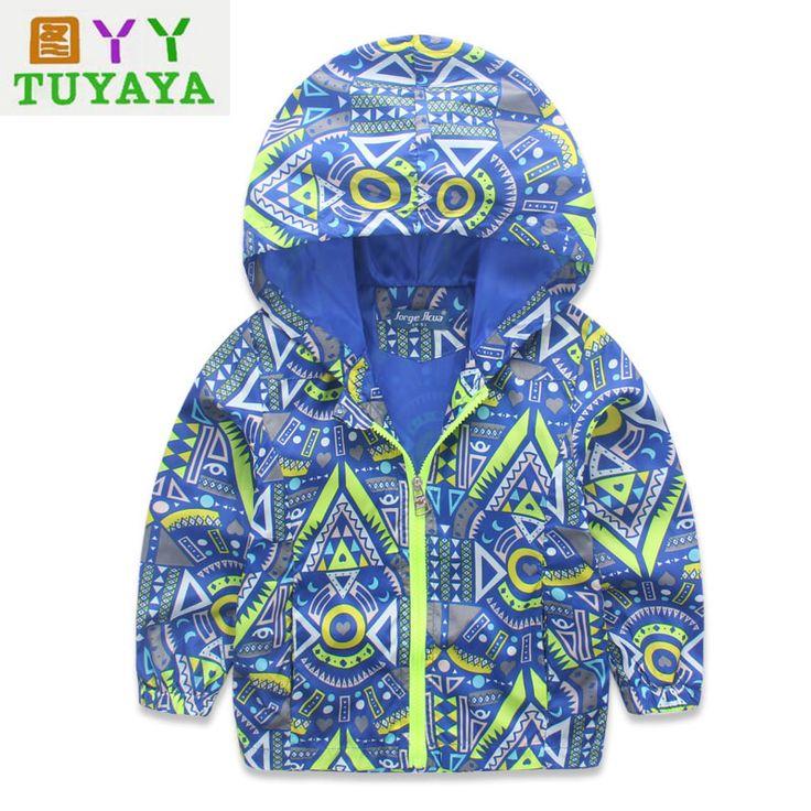 >> Click to Buy << Baby Girl Jackets Coats Cartoon Hooded Windbreaker for Toddler Boys Blazer 2017 Spring Kids Jacket Outerwear Kids Bomber Jacket #Affiliate