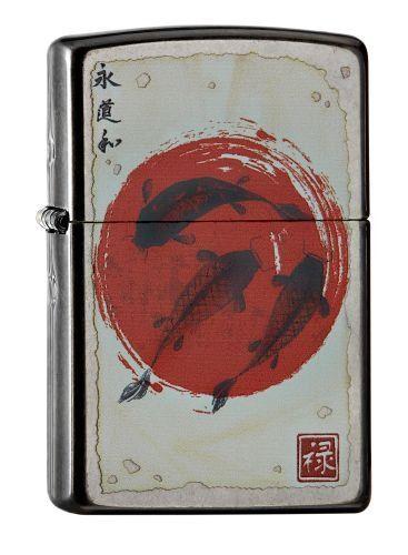 Zippo 60.002.017 De la colección de fijación de peces Mechero de Japón/2016, de colour gris y Dusk #Zippo #colección #fijación #peces #Mechero #Japón/, #colour #gris #Dusk