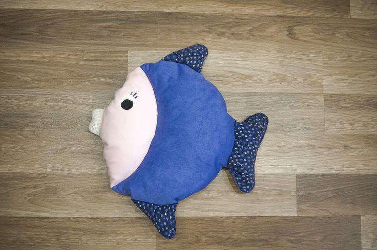 Poduszka rybka #poduszka #rybka #salon #dziecko #tkanitka
