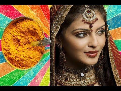Секреты индийских красавиц. Омолаживающая маска и скраб из куркумы - YouTube