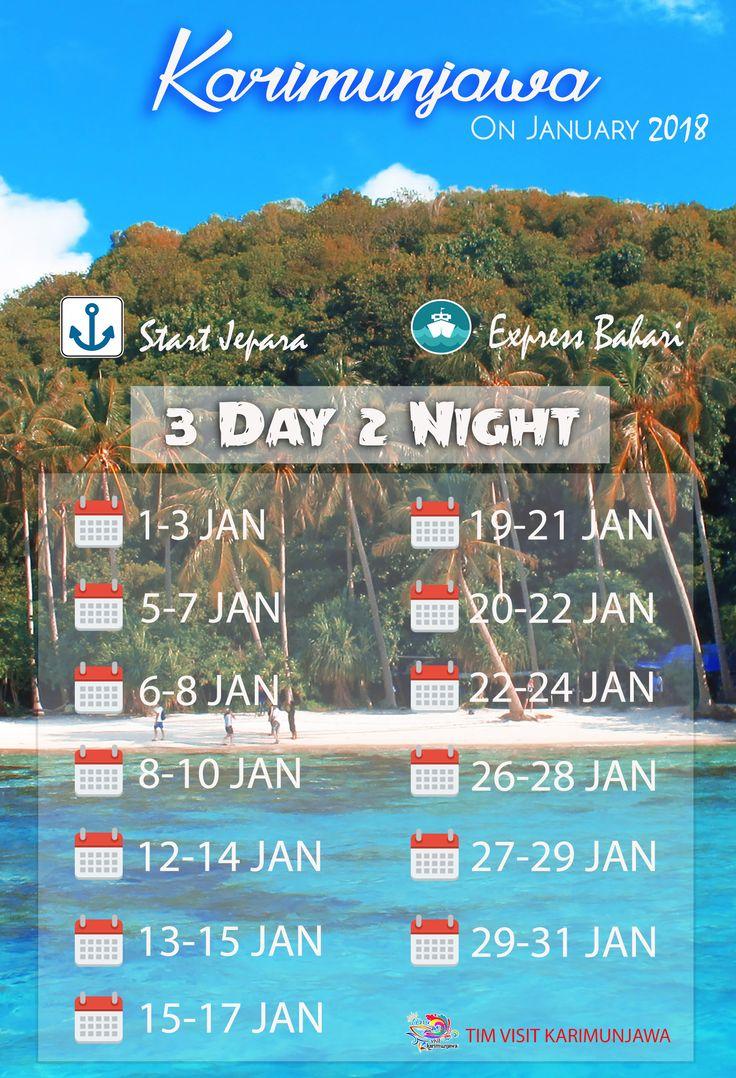 Promo Paket Wisata Karimunjawa Bulan Januari 2020 Bulan