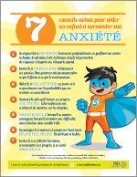 Midi-trucs : 7 conseils avisés pour aider un enfant à surmonter son anxiété. Fiche gratuite !