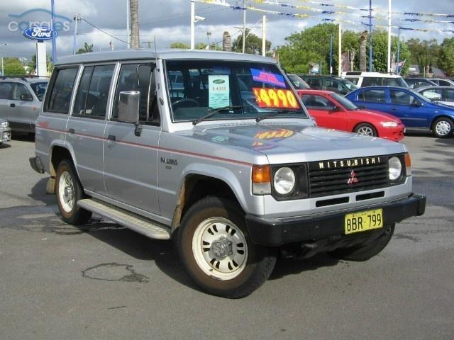 $4000 1990 MITSUBISHI PAJERO NG EXE LWB