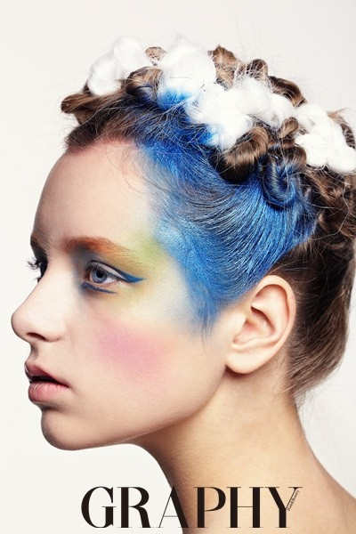 Nastya Sutupova for Hair Graphy Magazine, Seoul